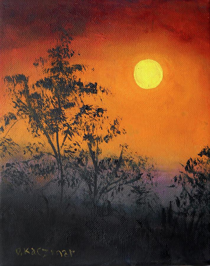 Setting Sun by Olga Kaczmar