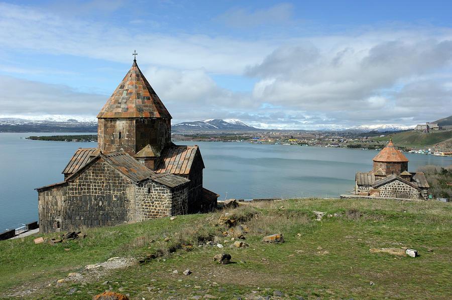 Sevanavank Monastery, Armenia Photograph by Christophe cerisier