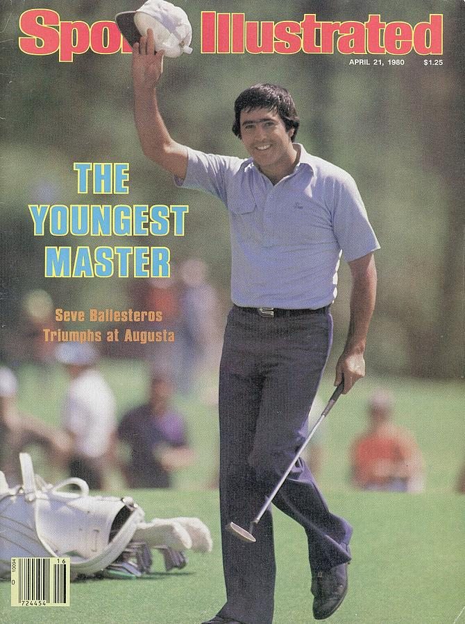 Seve Ballesteros, 1980 Masters Sports Illustrated Cover Photograph by Sports Illustrated