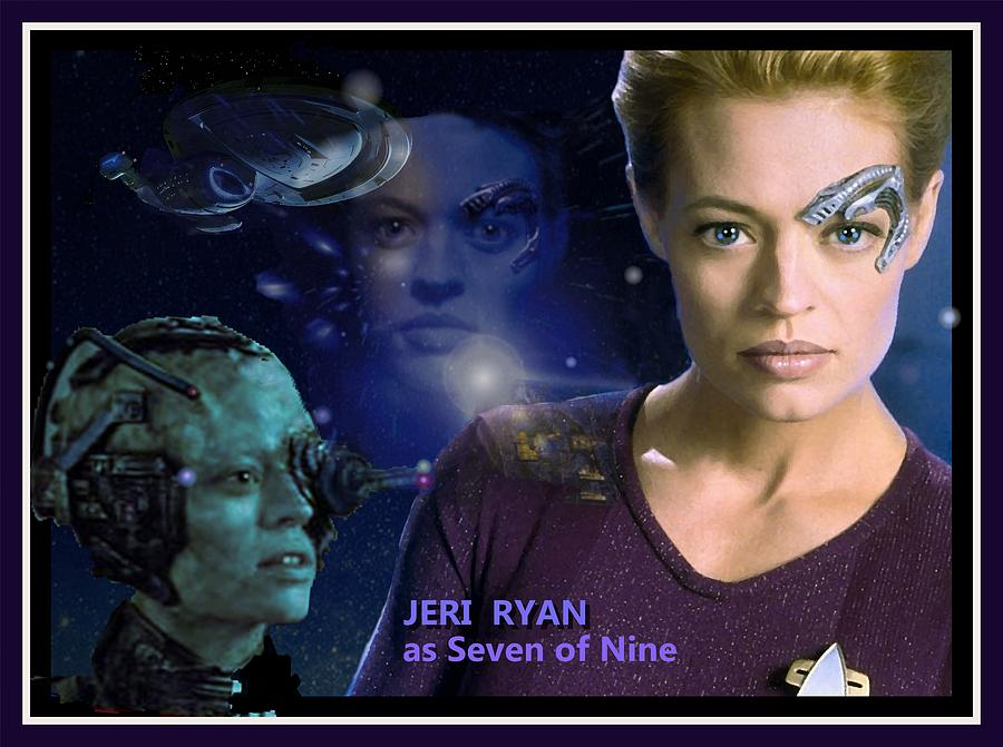 SEVEN of NINE by Hartmut Jager