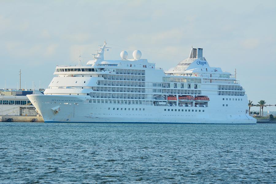 Seven Seas Navigator at Port by Bradford Martin