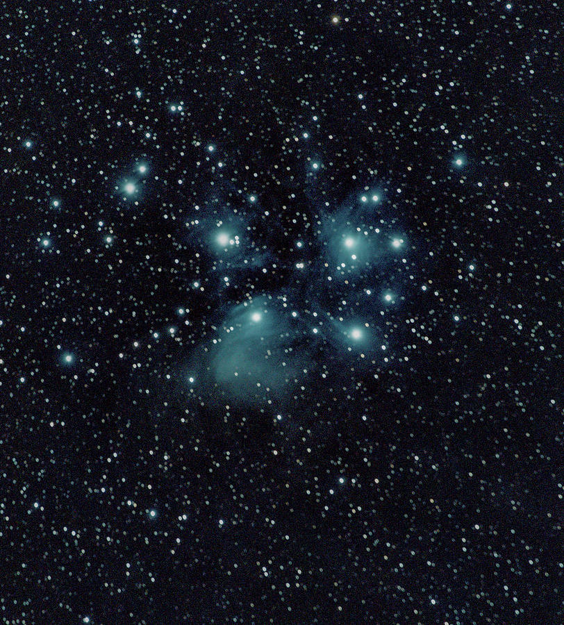 Space Photograph - Seven Sisters by Nunzio Mannino