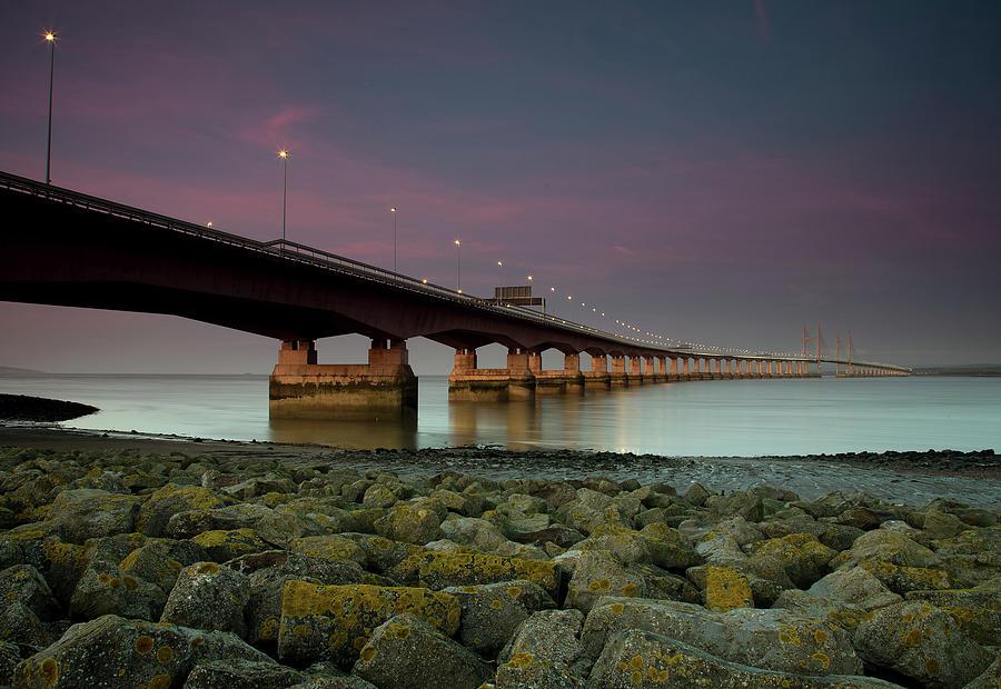 Severn Bridge Photograph by Paul C Stokes
