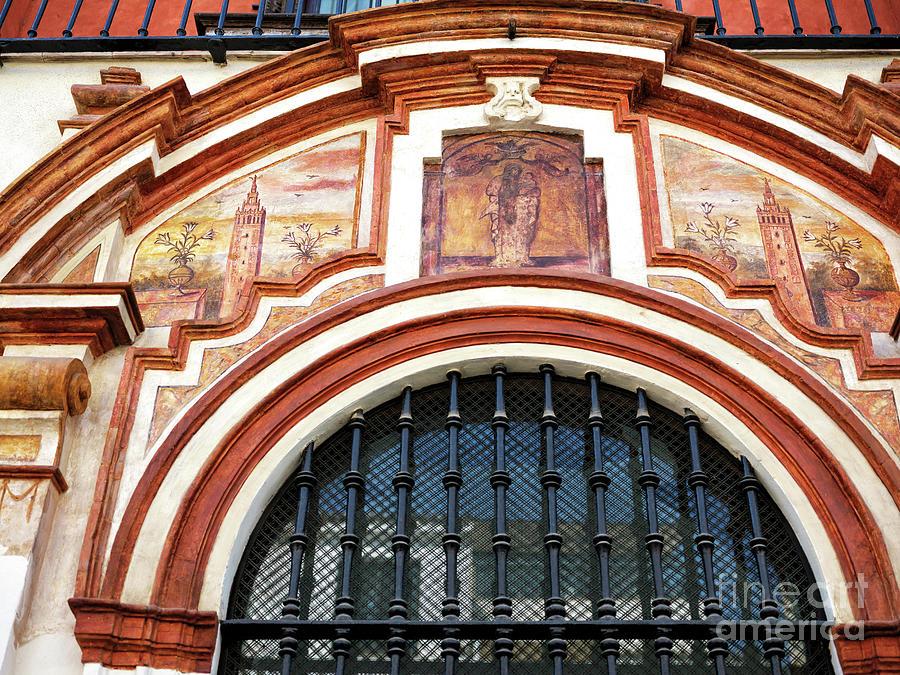 Sevilla Building Art by John Rizzuto