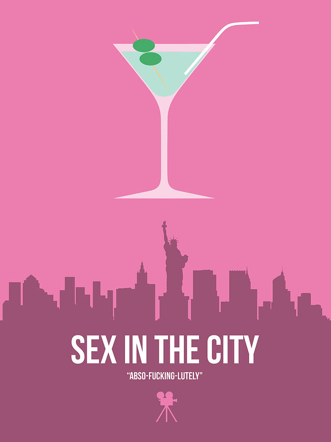 Sex And The City Digital Art - Sex And The City by Naxart Studio