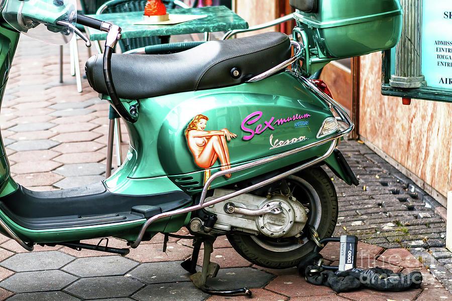 Sexy Vespa in Amsterdam by John Rizzuto