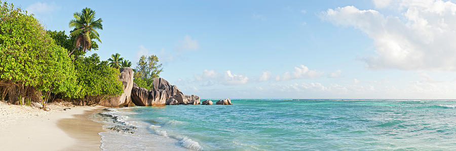 Seychelles Anse Source Dargent Idyllic Photograph by Fotovoyager
