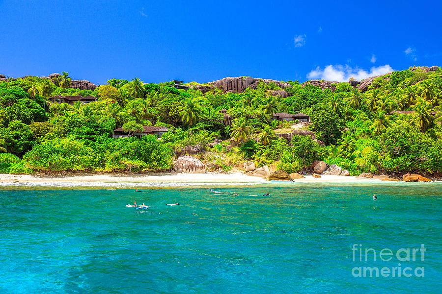 Seychelles Island snorkeling by Benny Marty