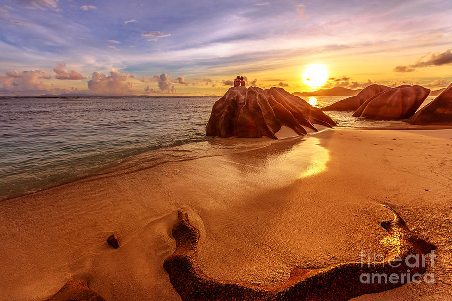 Seychelles La Digue honeymoon by Benny Marty