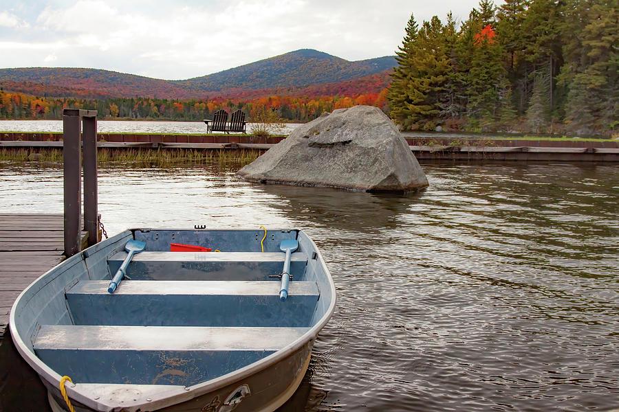 Seyon Pond Fall Foliage - Groton Vermont by Jeff Folger