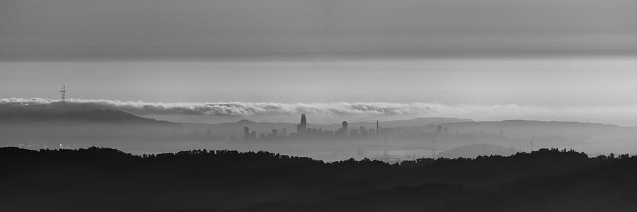 SF Skyline from Mt Diablo by Mike Gifford