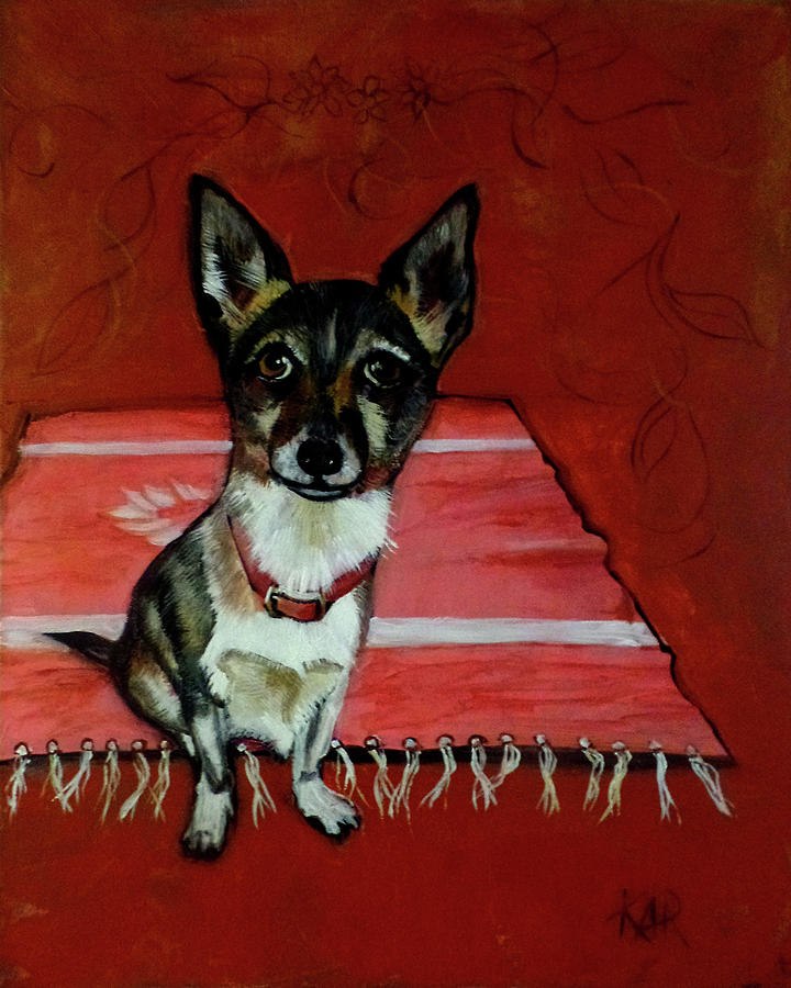 Chihuahua Painting - Sgt. Pepper by Art by Kar
