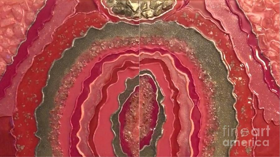 Shades of Pink Agate by Jana Ford