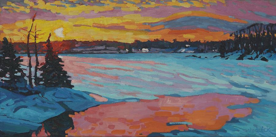 Shades of Singleton Sunset by Phil Chadwick