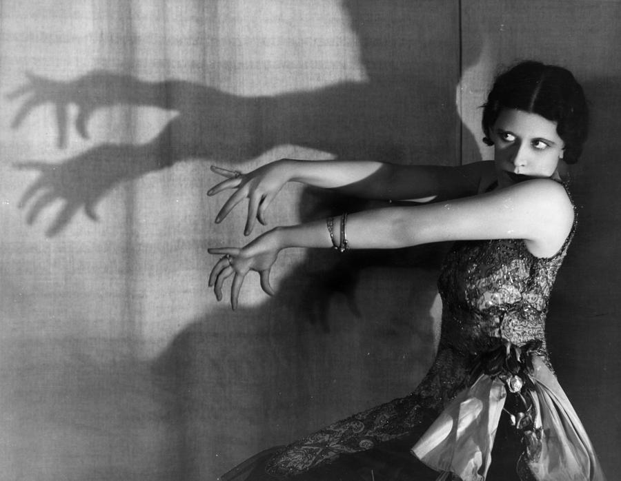 Shadow Dance Photograph by Sasha