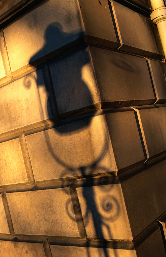 Shadow Of An Old Style Lamp On Carlotte Photograph by Lonely Planet