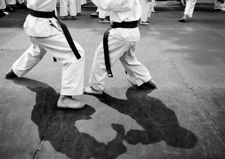 Shadow Sparring Photograph by Tanja-tiziana, Doublecrossed Photography