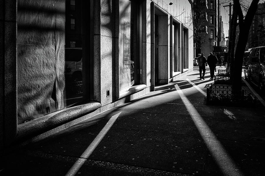 Shadows and Reflections on Madison by Cornelis Verwaal