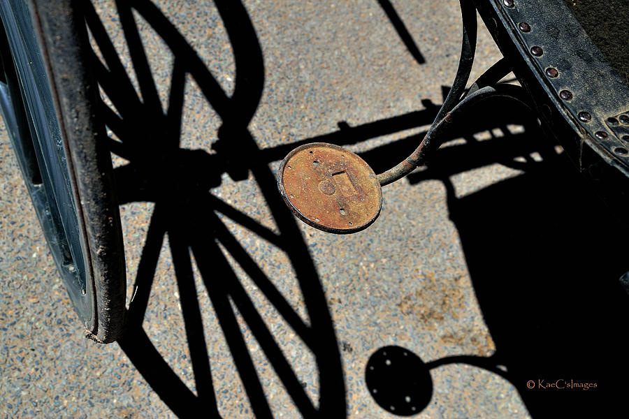 Shadows of Buggy Parts by Kae Cheatham