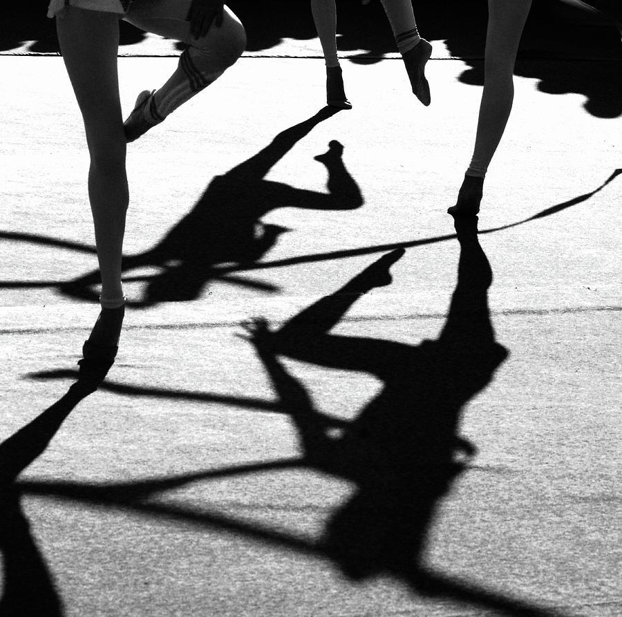 Shadows Of Women Dancing On Dance Photograph by Win-initiative/neleman