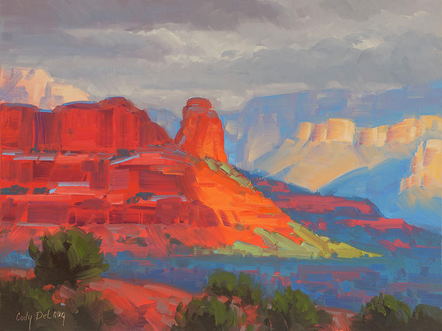 Shadows On The Move Sedona Painting