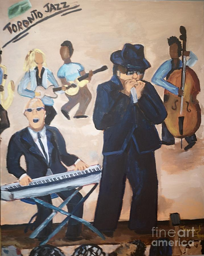 Shaffer and Aykroyd do Jazz by Jennylynd James