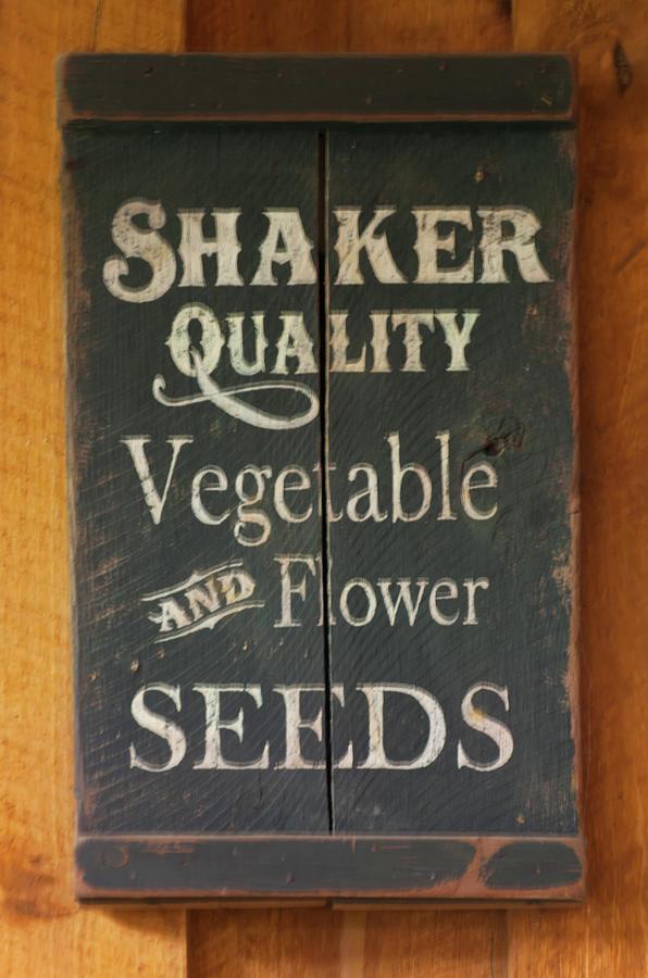 Shaker seeds advertising by Chris Flees