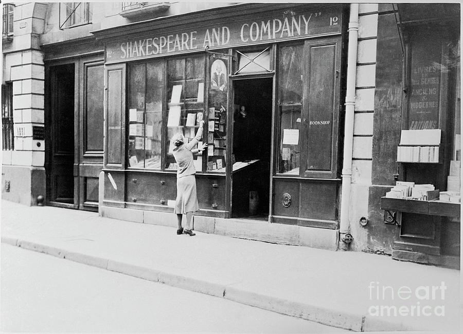 Shakespeare Book Store Photograph by Bettmann