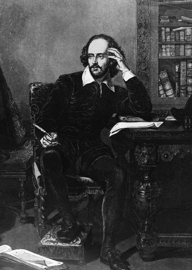 Shakespeare Digital Art by Hulton Archive