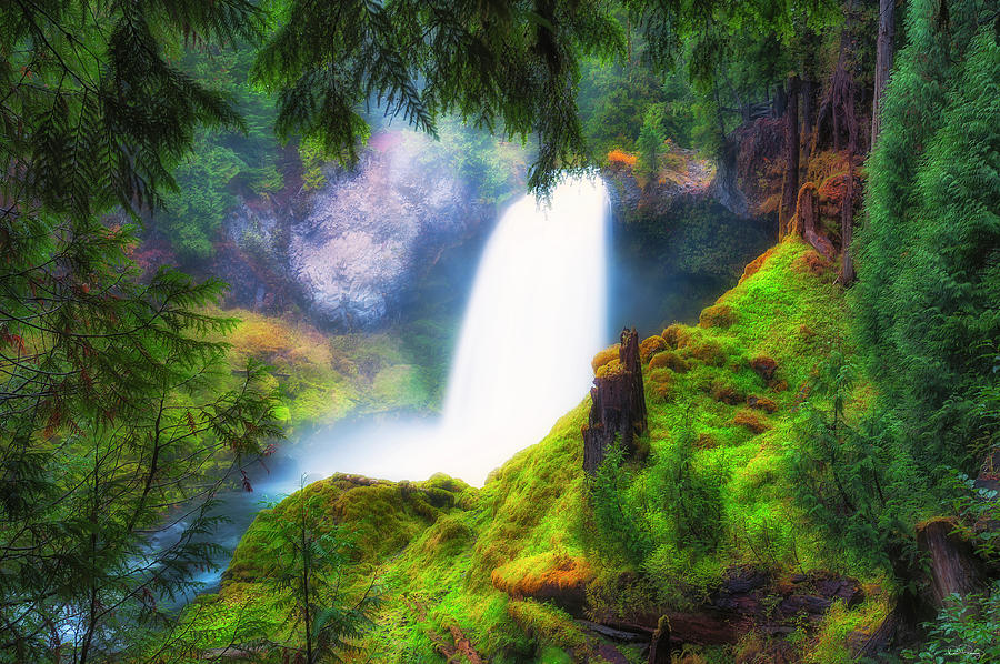 Shalie Waterfalls by Dee Browning