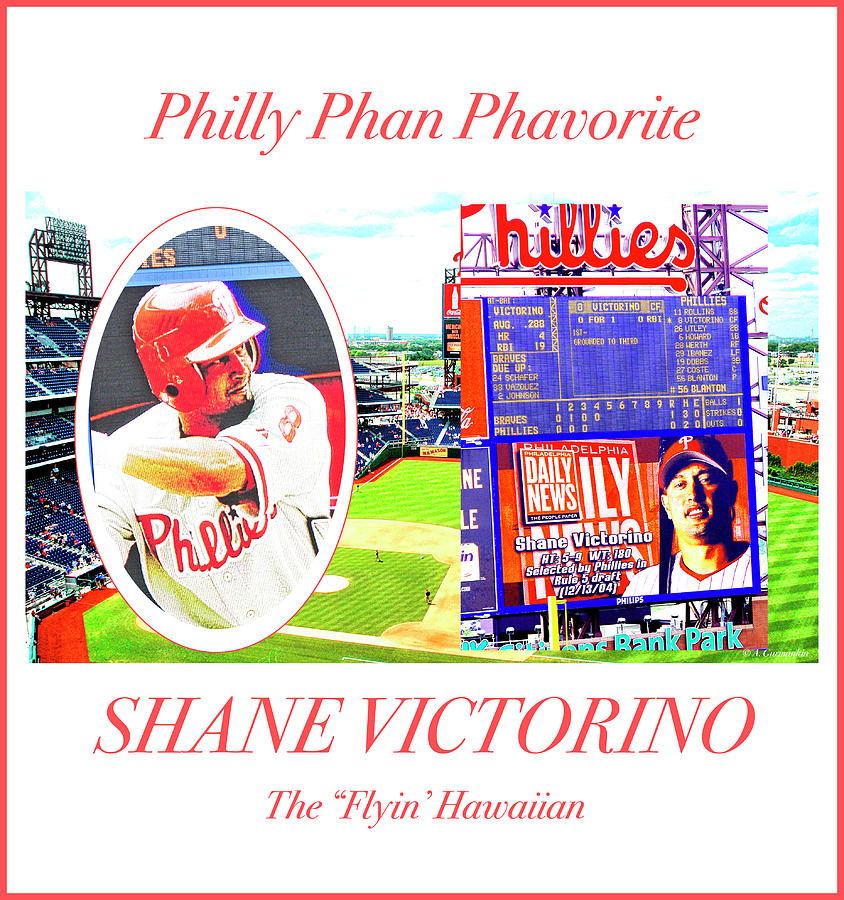 Shane Victorino, Philly Phan Phavorite by A Gurmankin