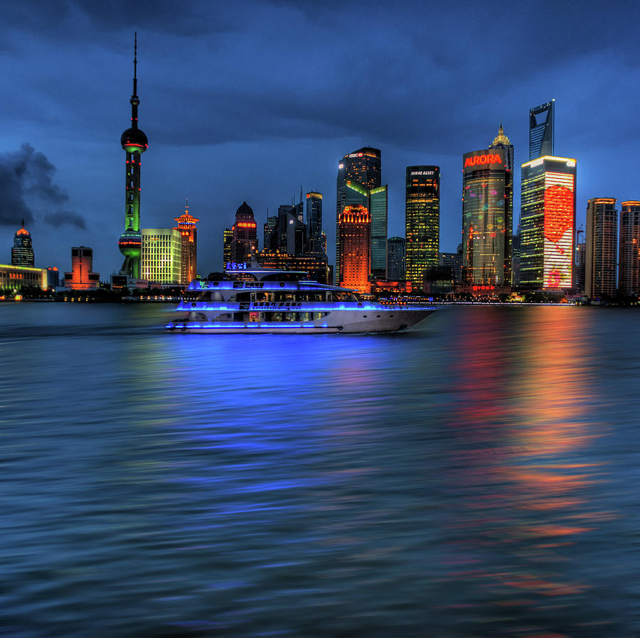 Shanghai - A Moment In Time Photograph by Steve Fleming