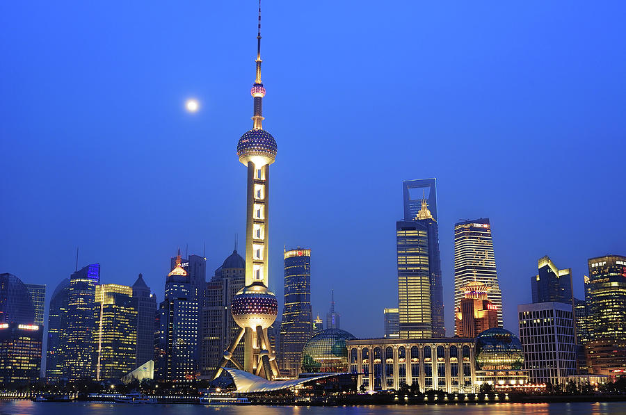 Shanghai Photograph by Copyright Of Eason Lin Ladaga