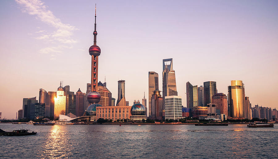 Shanghai Skyline Photograph by Photography By Daniel Frauchiger, Switzerland