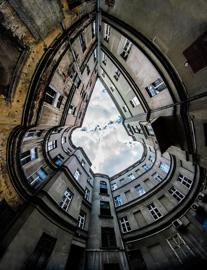 Shapes of architecture by Jaroslaw Blaminsky