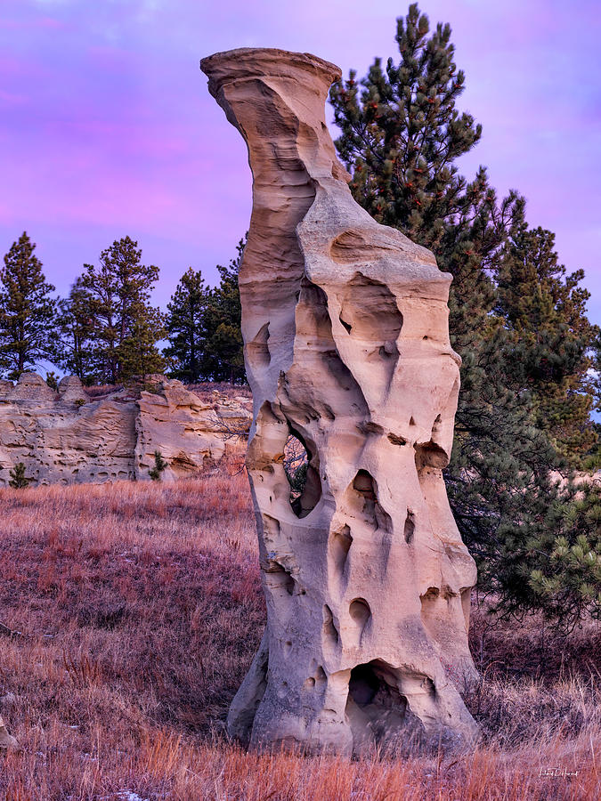 Balance Photograph - Shapes Of Time In Sandstone by Leland D Howard