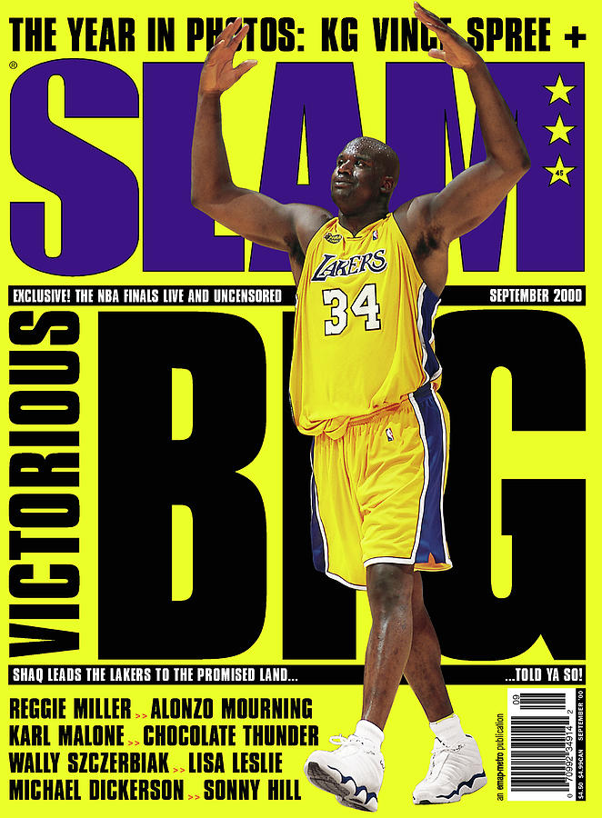 Shaquille ONeal: Notorious BIG SLAM Cover Photograph by Getty Images