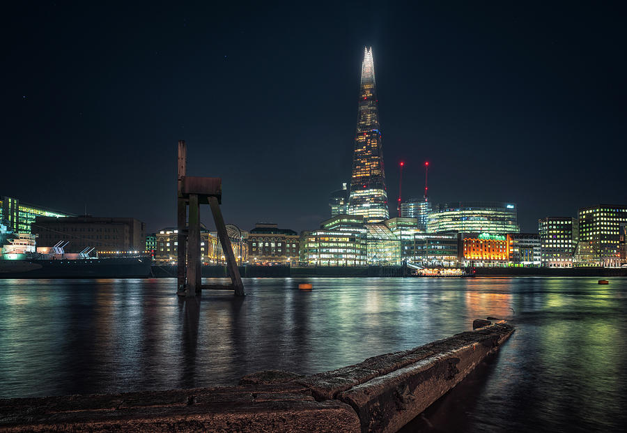 Shard from north bank by James Billings
