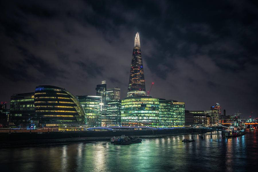 Shard from Tower Bridge by James Billings
