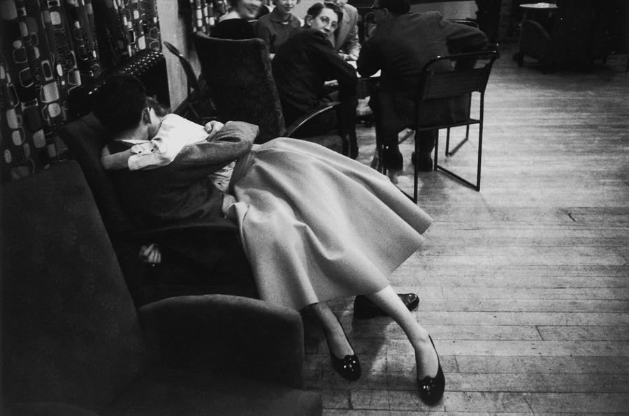 Sharing A Chair Photograph by Thurston Hopkins