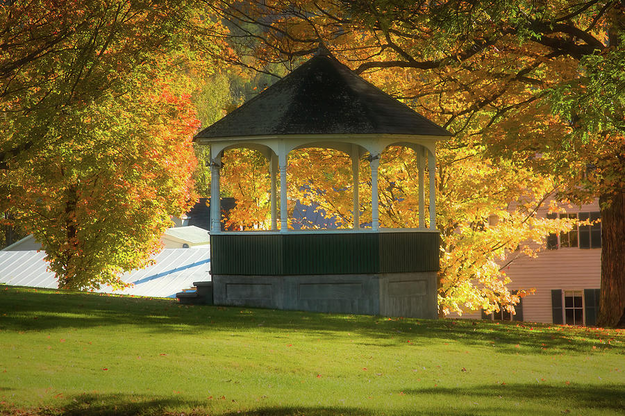 Sharon Vermont bandstand by Jeff Folger