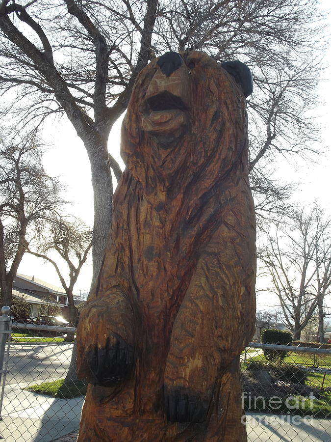 Bear Sculpture - Sharons Bear  by Michael Cuozzo