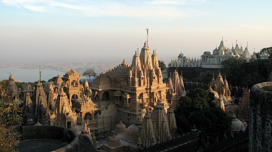 Shatrunjaya Temple. Indian Fairytale Photograph by Amre Ghiba.