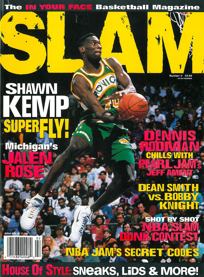 Shawn Kemp: Superfly! SLAM Cover Photograph by Getty Images