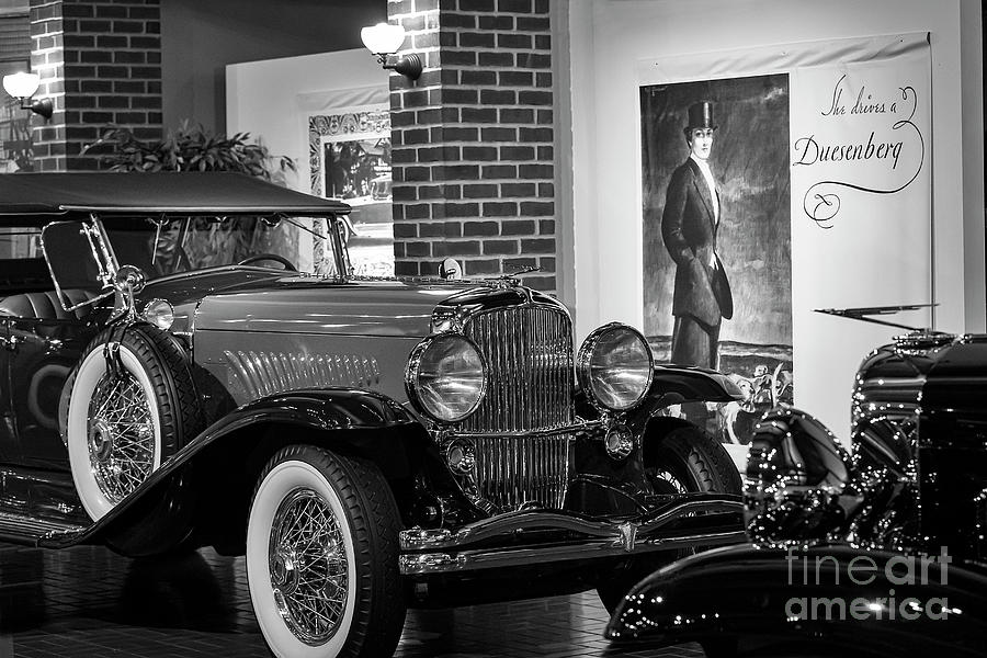 Duesenberg Photograph - She Drives A Duesenberg by Dennis Hedberg