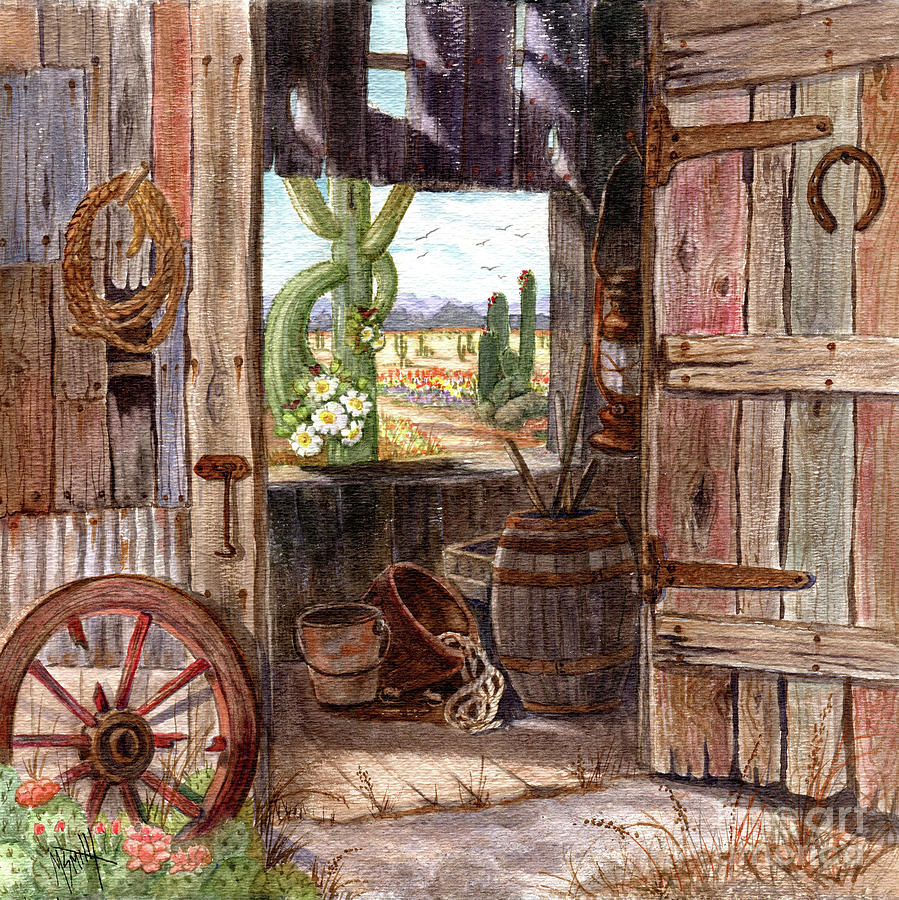 Shed With A View by Marilyn Smith