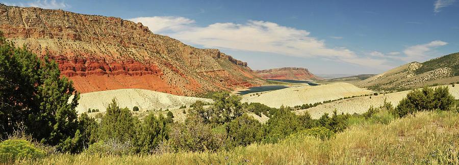 Sheep Creek Bay Panorama Shot Photograph by Utah-based Photographer Ryan Houston