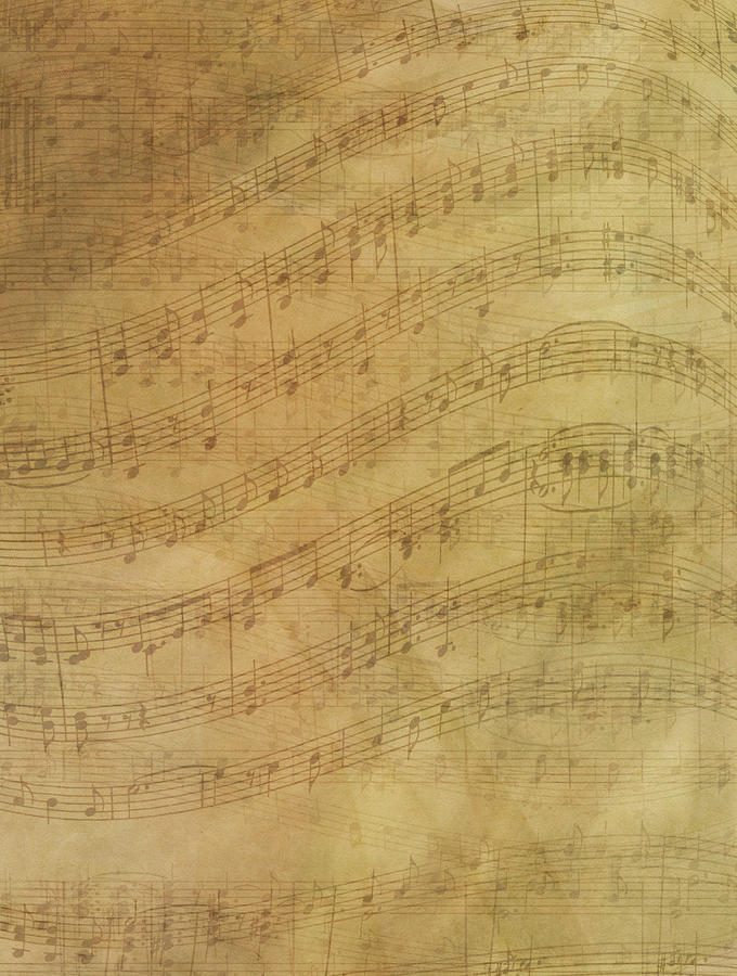Sheet Music Abstract Background Photograph by Jcarroll-images
