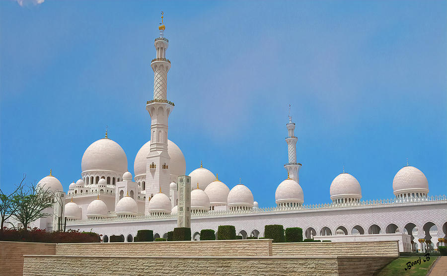 Sheikh Zayed Grand Mosque by Bearj B Photo Art