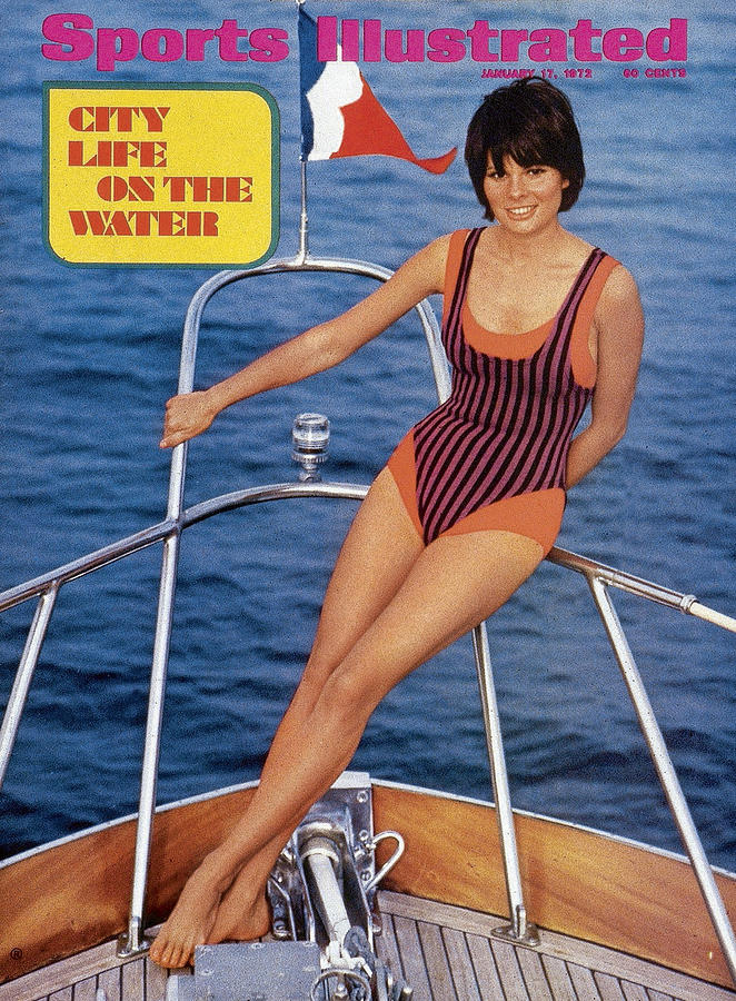 Sheila Roscoe Swimsuit 1972 Sports Illustrated Cover Photograph by Sports Illustrated